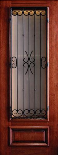 Mahogany Southwest Door Amp Window